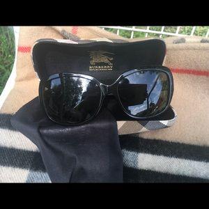 Burberry sunglasses.